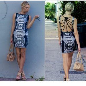 0ed548a1d533 Mara Hoffman Dresses - Mara Hoffman • Red Open Rays Back Silk Mini Dress